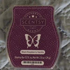 Scentsy Black Raspberry VanillaWax Bar